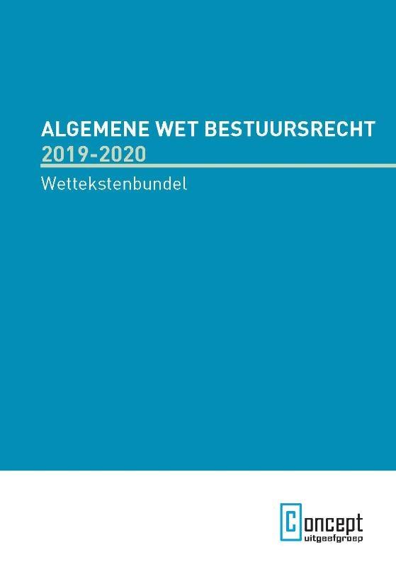 ,Algmeen Wet Bestuursrecht 2019-2020