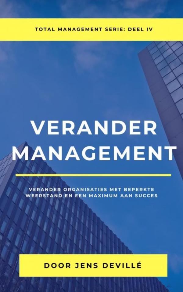 Jens Devillé,Verander Management