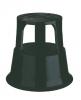 ,<b>Opstapkruk Desq 42cm metaal zwart</b>