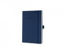 ,notitieboek Sigel Conceptum Pure hardcover A5 donkerblauw   gelinieerd