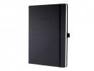 ,notitieboek Sigel Conceptum Pure hardcover A4 zwart         gelinieerd