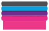 ,<b>Kaftpapier effen roze,paars, oranje, groen blauw</b>