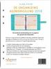 <b>Vivianne  Broekman</b>,De Organizing Agendavulling 2018 - A5 verticale weekindeling over 2 pagina`s
