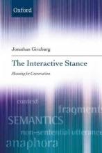 Jonathan Ginzburg The Interactive Stance