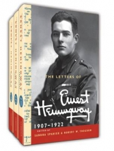 Hemingway, Ernest The Letters of Ernest Hemingway Hardback Set Volumes 1-3
