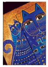 , Paperblanks adresboek mediterranean cats mini wrap