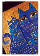, Paperblanks adresboek mediterranean cats mini wrap