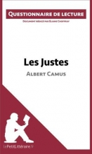 Choffray, Éliane Questionnaire de lecture : Les Justes d`Albert Camus