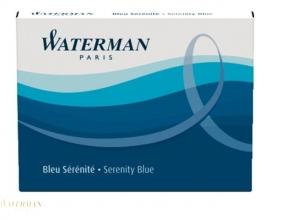 , Inktpatroon Waterman internationaal Florida blauw