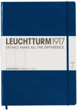 , Leuchtturm notitieboek master slim a4 bullets/points navy