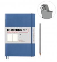 Lt361572 , Leuchtturm notitieboek soft medium pastel blauw blanco