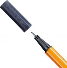 , Stabilo fineliner 88 kleur 98 antraciet
