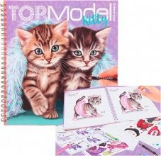 , Topmodel create your kitty kleurboek