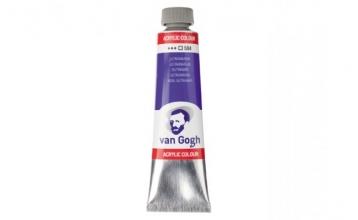 , Talens van gogh acrylverf tube 40 ml ultramarijn 504
