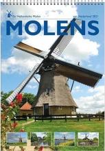, Maandkalender 2021 molens hollandse molen 23.5x33.5
