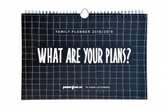 Paperfuel Family Planner 2018-2019