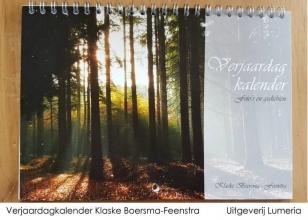 Klaske Boersma-Feenstra , Verjaardagkalender