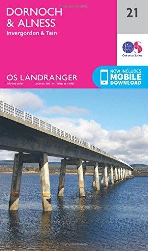 Ordnance Survey,Dornoch & Alness, Invergordon & Tain