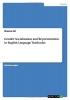 Ali, Sheeraz, Gender Socialization and Representation in English Language Textbooks