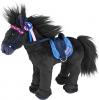 87290a5 , Miss melody knuffelpaard black angel