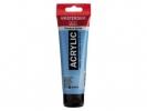 , Talens amsterdam acrylverf tube 120 ml koningsblauw 517