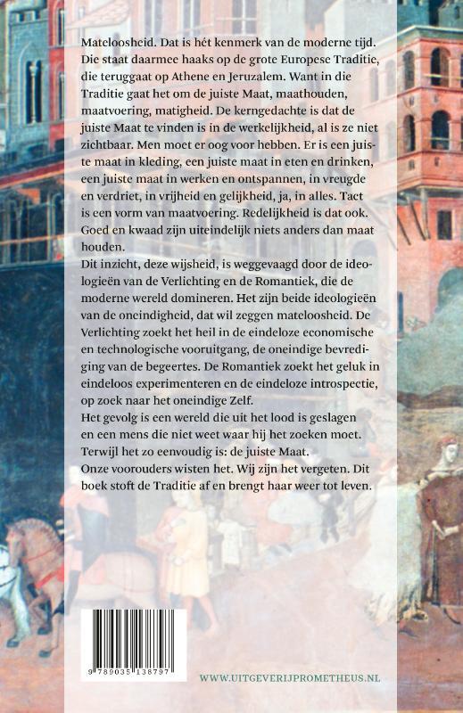 Andreas Kinneging,De onzichtbare Maat