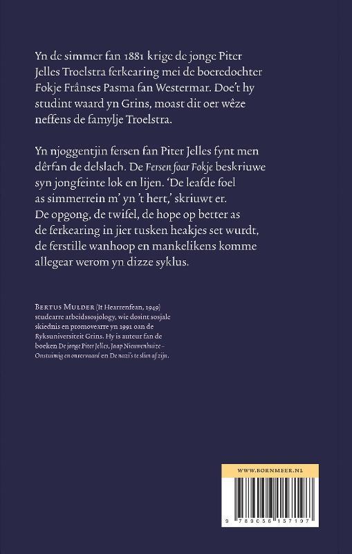 Bertus Mulder,Fersen foar Fokje