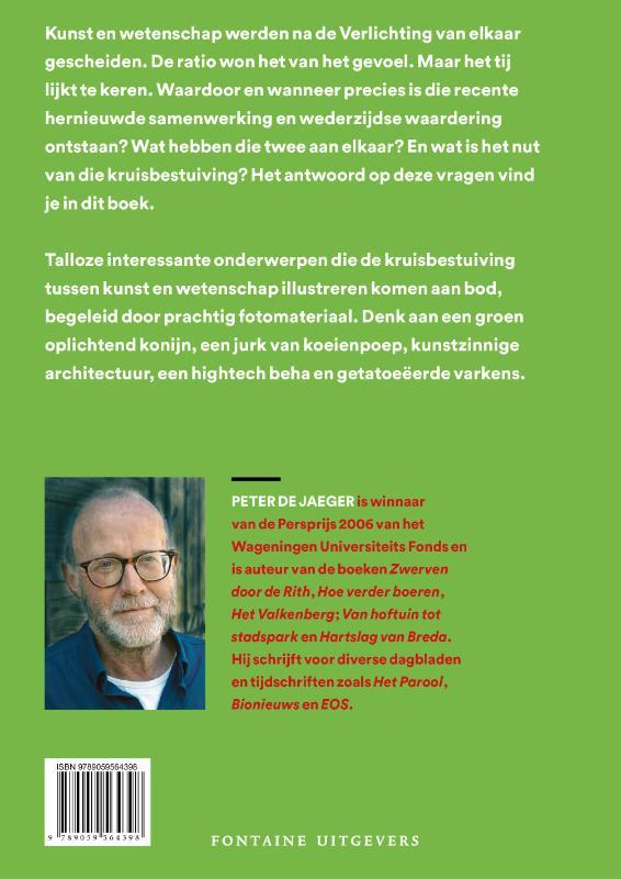 Peter De Jaeger,Kunst & wetenschap