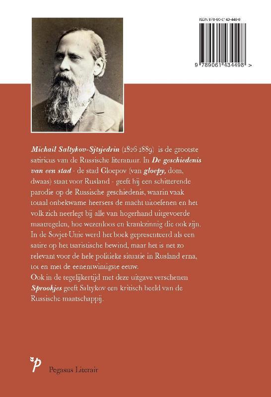 Michail Saltykov-Sjtsjedrin,De geschiedenis van een stad