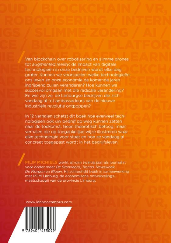 Filip Michiels,12 digitale technologieën die de wereld veranderen