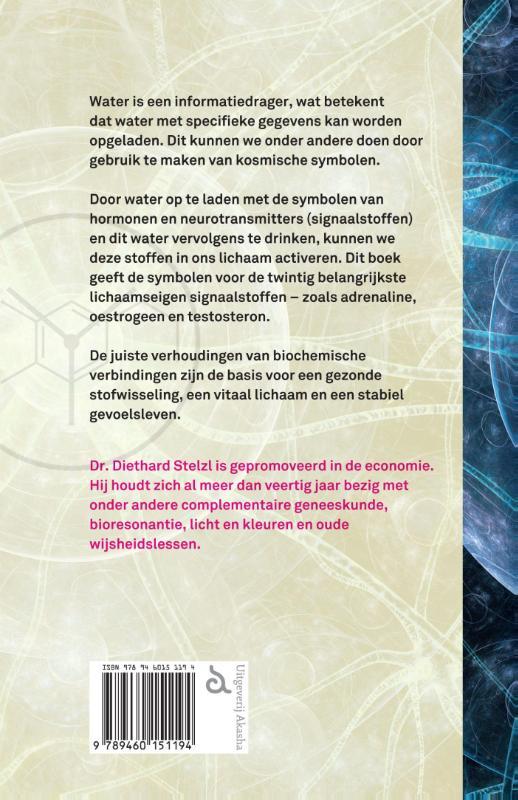 Diethard Stelzl,Hormonen en neurotransmitters activeren met kosmische symbolen