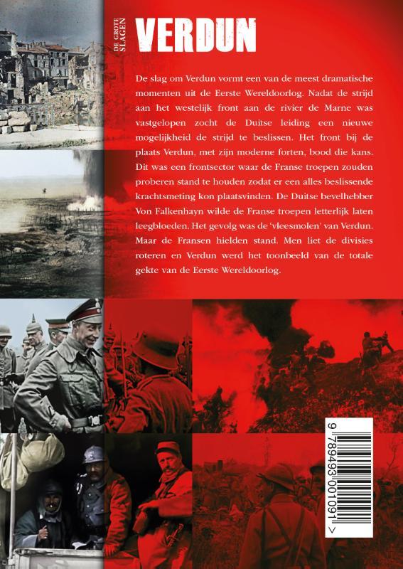 Perry Pierik,De grote slagen Verdun