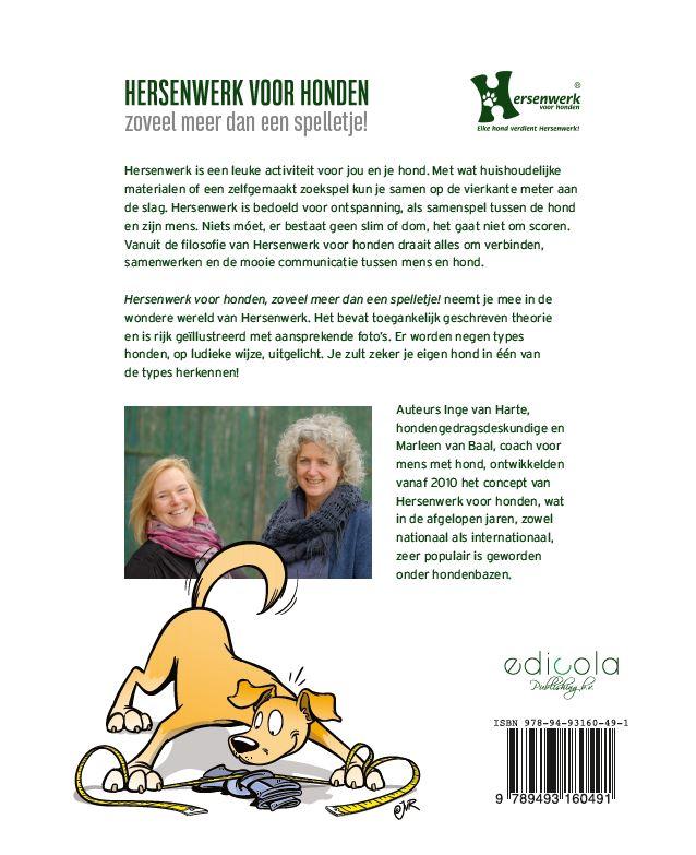 Marleen van Baal, Inge van Harte,Hersenwerk voor honden