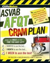 Burstein, Jane R. CliffsNotes ASVAB AFQT Cram Plan