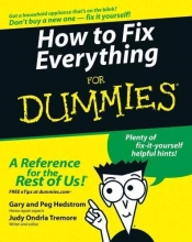 Hedstrom, Gary How to Fix Everything For Dummies
