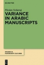 Sobieroj, Florian Variance in Arabic Manuscripts