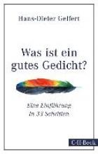 Gelfert, Hans-Dieter Was ist ein gutes Gedicht?