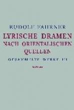 Fahrner, Rudolf Gesammelte Werke III