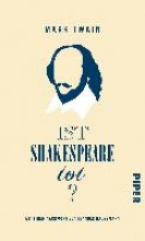 Twain, Mark Ist Shakespeare tot?