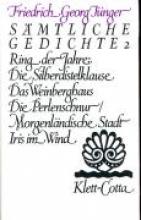 Jünger, Friedrich G Werke 2. Smtliche Gedichte
