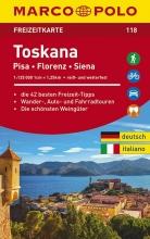 , MARCO POLO Freizeitkarte Toskana 1:100 000