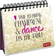 Spiralaufsteller - Time to drink champagne