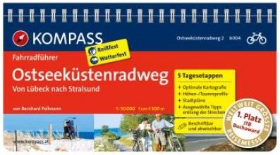 Pollmann, Bernhard FF6004 Ostseeküstenradweg 2, von Lübeck nach Usedom Kompass
