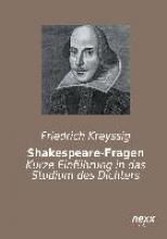 Kreyssig, Friedrich Shakespeare-Fragen