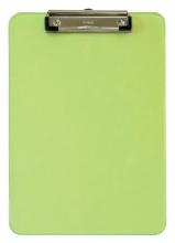 , Klembord MAUL A4 staand transparant neon groen