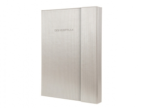 notitieboek Sigel Conceptum Glam hardcover A5               magneetsluiting Champagne