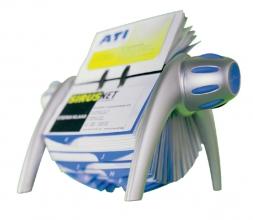 , Visitekaartenmolen Durable Vegas 2417 voor 400st blauw/grijs