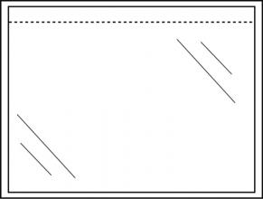 , Paklijstenvelop Quantore zelfklevend blanco 165x121mm 1000st