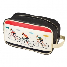 Toilettas rider`s travel bag design