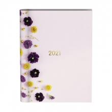 , Agenda 2021 wire-o flowers pink